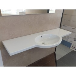 LAVABO CATALANO B.CO 150cm X 39 X 56